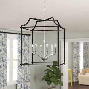 Darby Home Co Bartley Transitional 6-Light Foyer Pendant