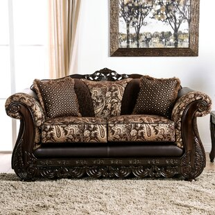 Renea Rolled Arms Loveseat by Astoria Grand