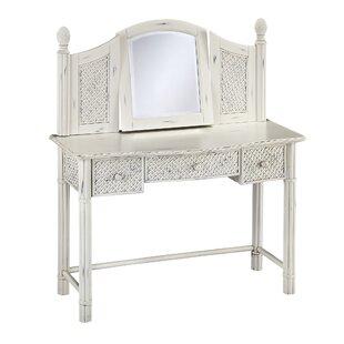 Beachcrest Home Dessie Vanity with Mirror
