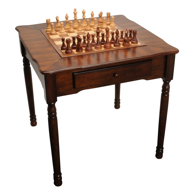 elegant chess checkers and backgammon table - Backgammon Game