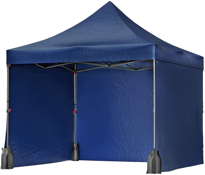 Songmics Tent 10 Ft W X 10 Ft D Steel Pop Up Canopy Wayfair