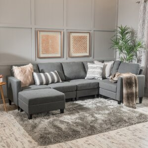 Longwood Modular Sectional by Breakwater Bay