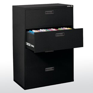 4-Drawer  File Cabinet by Sandusky Cabinets