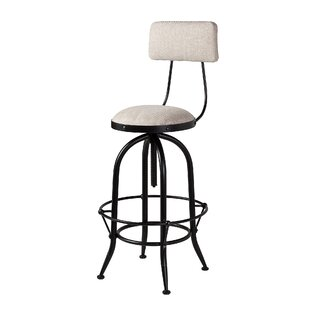 Macdougal Adjustable Height Swivel Bar Stool Gracie Oaks