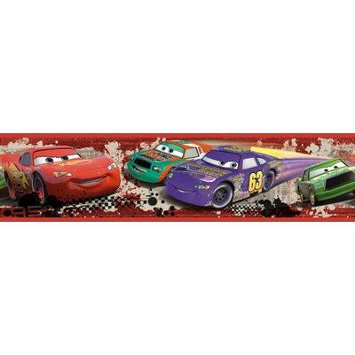 Disney Cars Piston Cup Racing Room Border Wall Mural Part 56