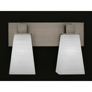 Winston Porter Weatherly 2-Light Vanity Light