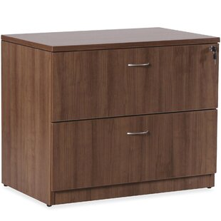 Lorell Essentials Series Laminate 2-Drawer Lateral Filing Cabinet
