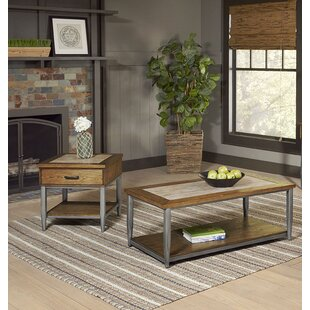Hendricks 2 Piece Coffee Table Set