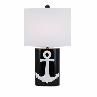 Compare Crestmont Anchor Ceramic 25.75 Table Lamp By Breakwater Bay