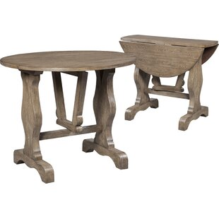 Charmant Highland Ridge Drop Leaf End Table