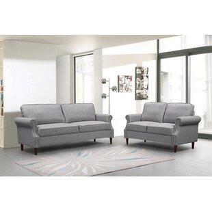 Aariv 2 Piece Standard Living Room Set by Red Barrel Studio