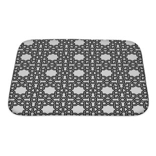 Creek Geometric Ornament with Fine Elements Bath Rug