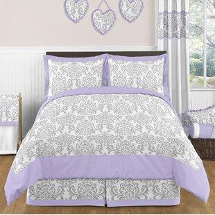 Sweet Jojo Designs Elizabeth 4 Piece Twin Comforter Set