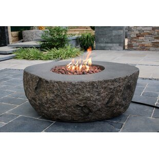 Norrington Concrete Propane/Natural Gas Fire Pit Table by Wrought Studio