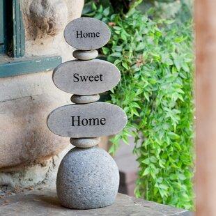 Giant Cairn Garden Stone Wayfair