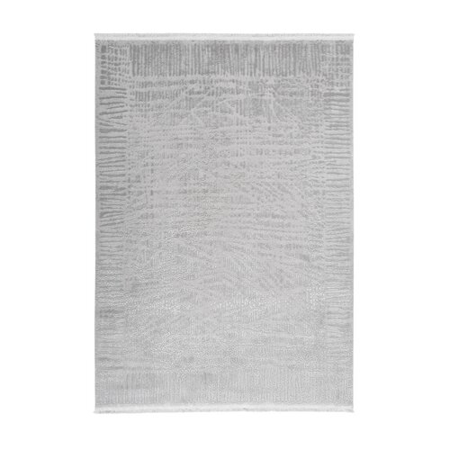 Lafontaine Flatweave Silver Indoor/Outdoor Rug August Grove