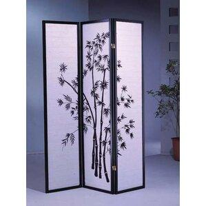 70 X 51 Bamboo Shoji 3 Panel Room Divider