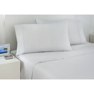 200 Thread Count Ticking Stripe Sheet Set