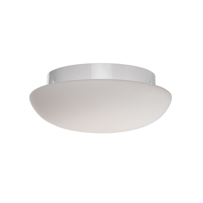 Modern Forms Loft 1-Light LED Semi Flush Mount
