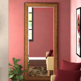 Great Price Beveled Brown Wall Mirror ByDarby Home Co