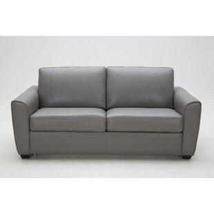 Jasper Leather Sofa Sleeper by J&M Furniture