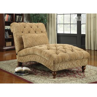 Astoria Grand Felda Tufted Upholstered Chaise Lounge