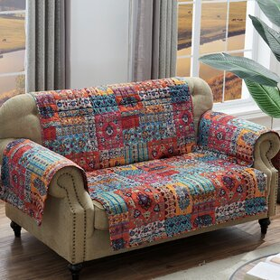 Shop Paisley Slipcover by World Menagerie