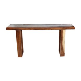 Macy Live Edge Console Table