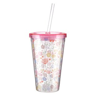 Asa Casey 450ml Acrylic Drinks Cup By 17 Stories