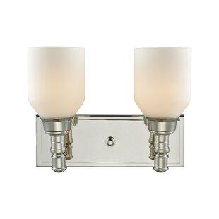 Bungalow Rose Dostal 2-Light Vanity Light
