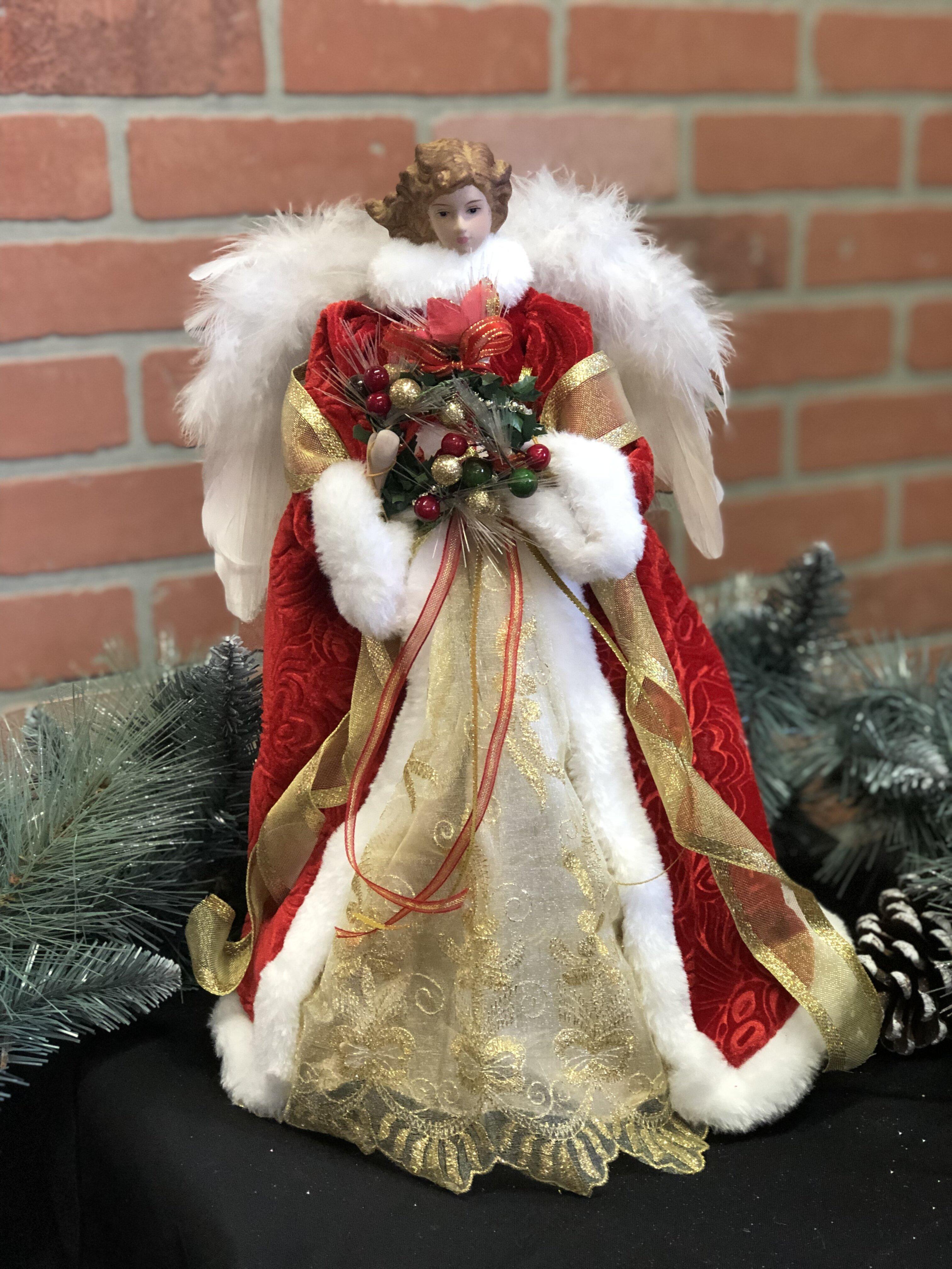The Holiday Aisle 16 Fiber Optic Christmas Angel Tree Topper Reviews Wayfair