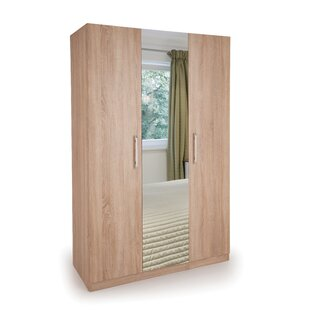 Halstead 3 Door Wardrobe By 17 Stories
