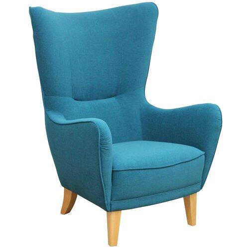 Ohrensessel Romeo | Wohnzimmer > Sessel > Ohrensessel | Holz - Chenille - Holzwerkstoff | Perfect