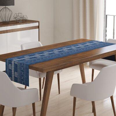 Brayden Studio Kimsey Table Runner  Color: Indigo