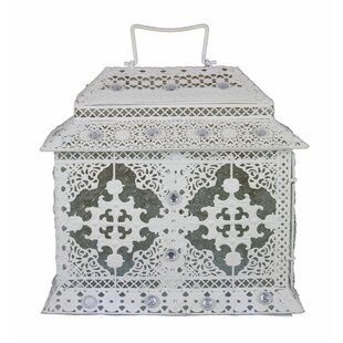 World Menagerie Intriguingly Charmed Metal Lantern