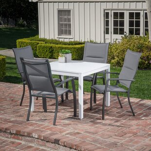 Woodruff 5 Piece Dining Set by Winston Porter