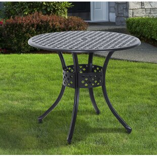 Nicole Metal Dining Table by Astoria Grand