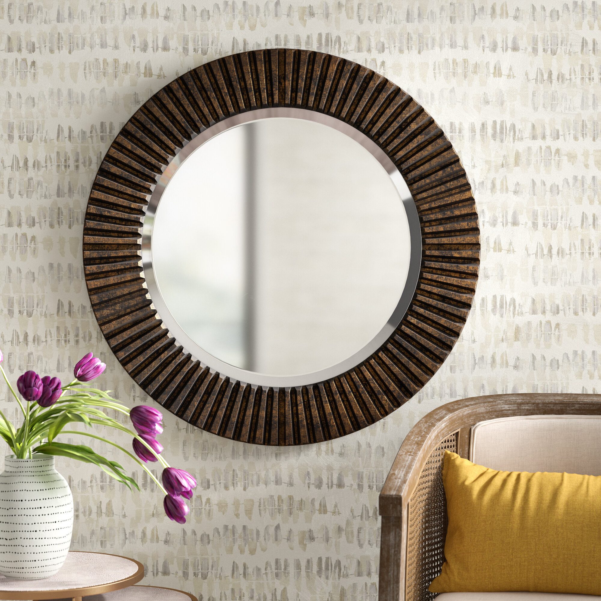 Osgood Eclectic Accent Mirror Reviews Joss Main