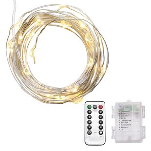 Kato 33 ft. 100-Light Fairy String Light