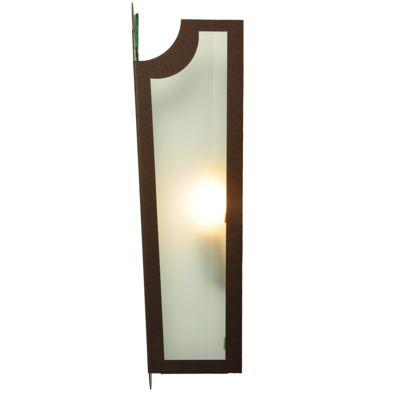 Meyda Tiffany 2 Light French Market Frosted Wall Sconce