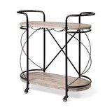 Pesina Metal Bar Cart by Williston Forge