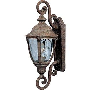 Jarrett 1-Light Outdoor Wall Lantern by Astoria Grand