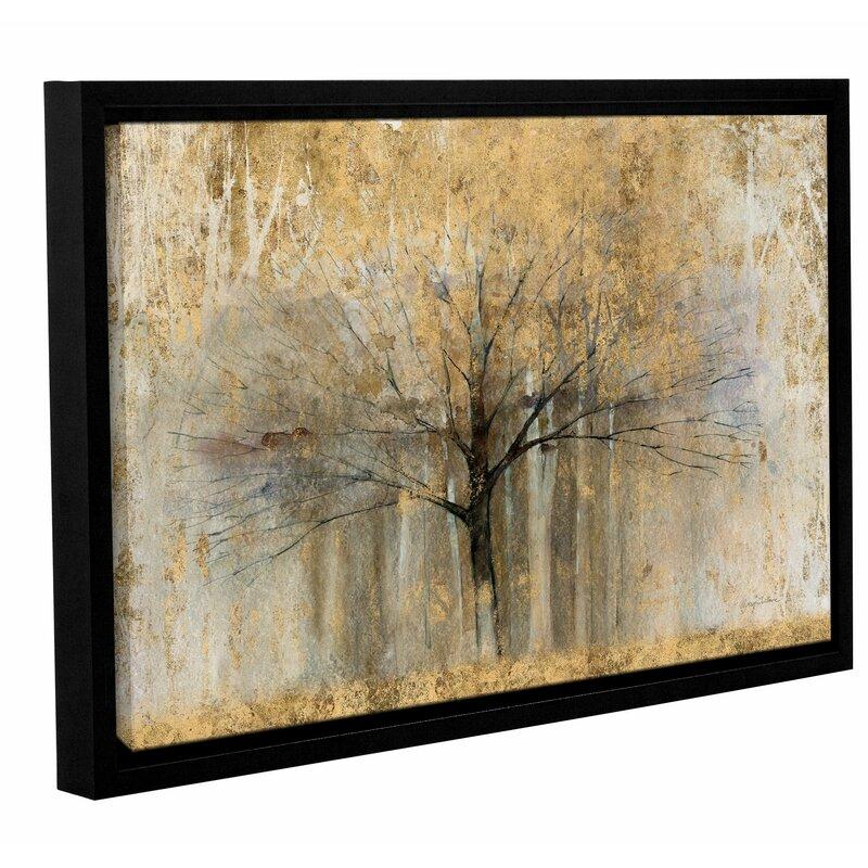 Open Arms Gold Framed Painting Print Reviews Joss Main