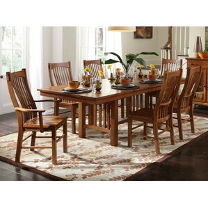 Corwin Extendable Dining Table by Loon Peak