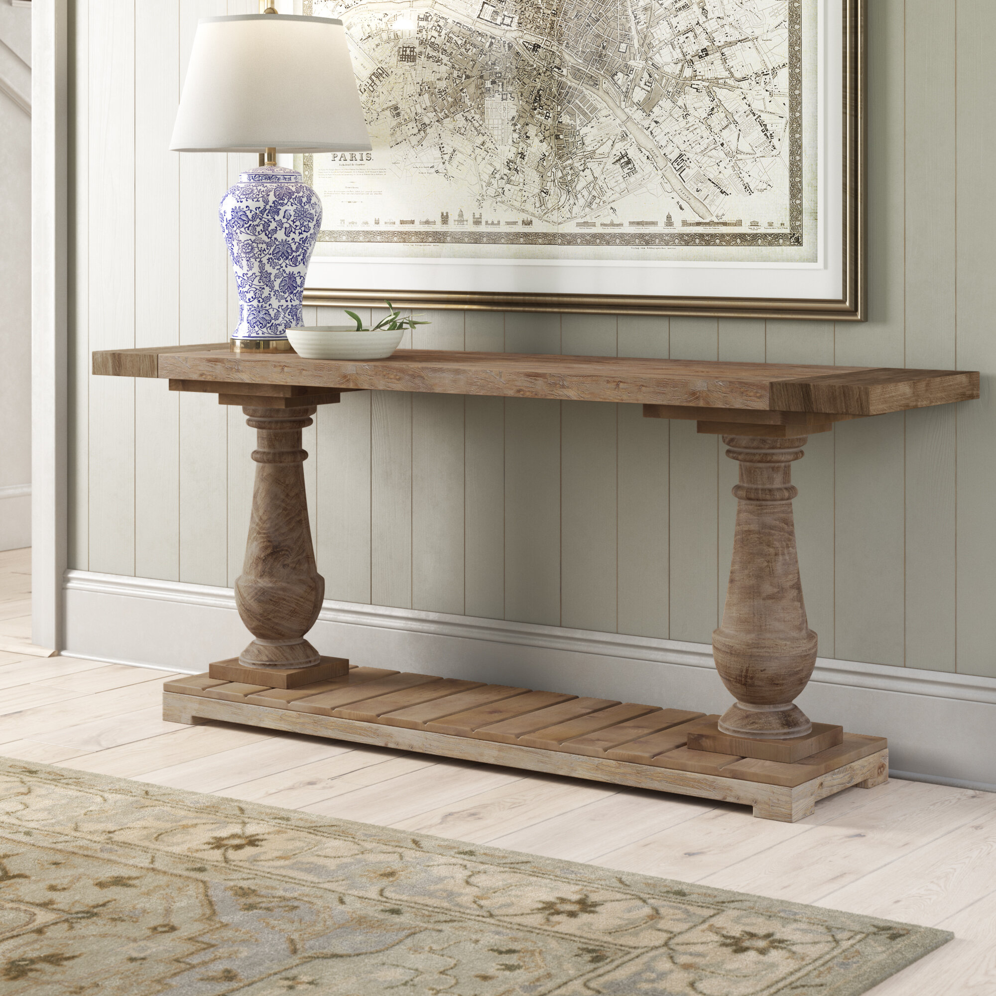 Hinsdale 71 Solid Wood Console Table Reviews Birch Lane
