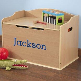 Affordable Personalized Austin Toy Storage Bench ByKidKraft