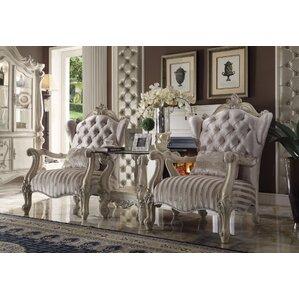 Leday Brown Velvet Armchair