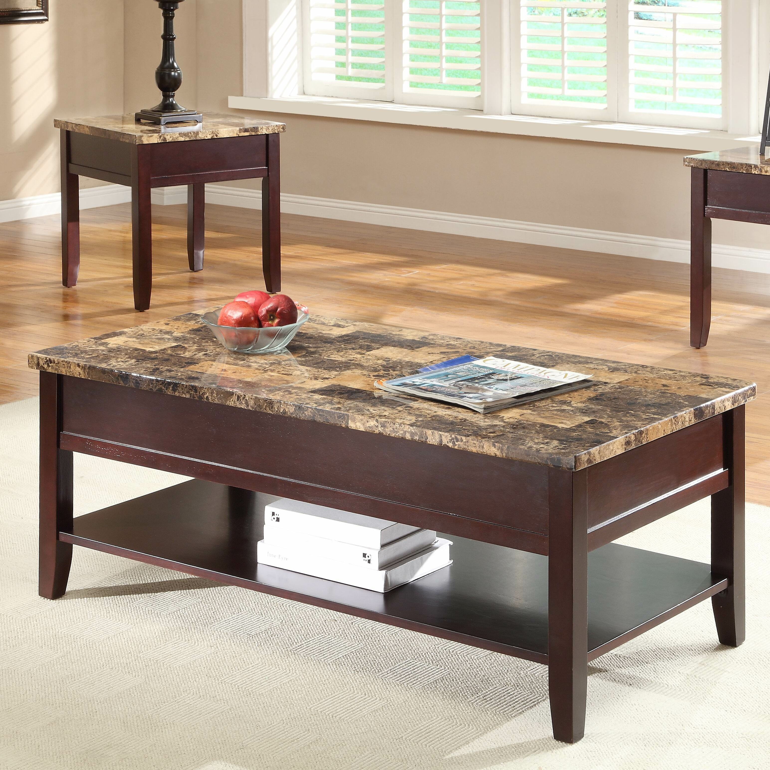 Woodhaven Hill Orton Coffee Table with Lift Top & Reviews