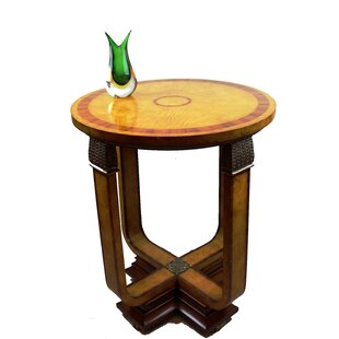 Art Deco End Table by Pasargad NY