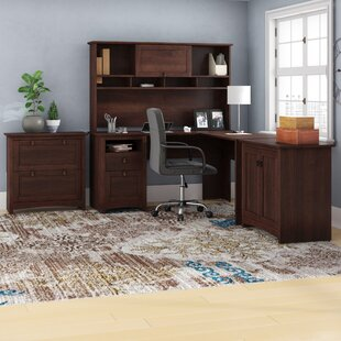 Fralick 4 Piece L-Shape Desk Office Suite